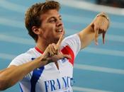 Mondiaux Daegu 2011 200m Bolt 1er, Lemaitre