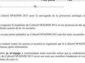 Tournée d'information d'adhesion collectif SPADNM