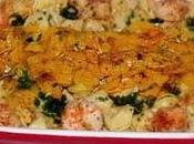 """recette Poivron """"Soleil poivrons"""" Pates crevettes poivrons jaunes"""