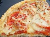 Tarte thon tomates mozzarella pâte brisée piment d'espelette