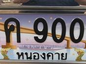 Thaïlande 156.000 euros déboursés pour acheter plaque d'immatriculation 9999
