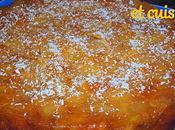 Gâteau retourné caramel pomme