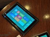 Windows aussi tablettes