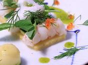 Tartelette polenta langoustines bouillon crustacés Ariaké