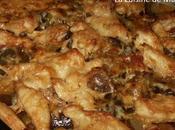 Emincé gratiné poulet légumes ratatouille