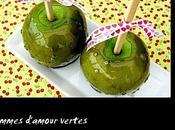 Pommes d'amour vertes