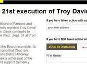 Troy Davis encore espoir, agissons