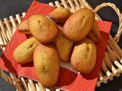 Madeleines légères sans beurre fève tonka