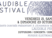 Festival l'audible instants chavirés
