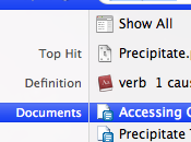 Indexez fichiers Google Docs avec Spotlight Precipitate