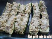 Courgettes farcies thon sans lait