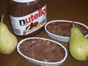 Crèmes Nutella poire