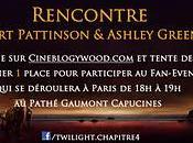 Concours Twilight Révélation rencontre Robert Pattinson