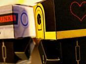 Papertoys Daft Punk Hadi