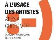 """""""Les réseaux sociaux l'usage artistes"""" librairie"""