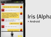 l'iPhone siri, Android iris!