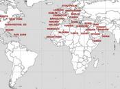 Carte l'insurrection mondiale contre l'occupation bancaire