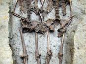 couple l'époque romaine enterré tenant main depuis 1500
