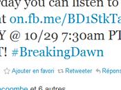 Samedi, écoutez entière Breaking Dawn
