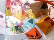Ballotins bonbons origami