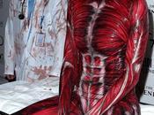 Choc Halloween costume très effrayant d'Heidi Klum