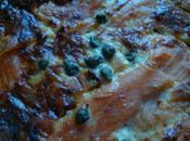 Quiche saumon fumé capres