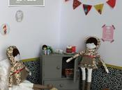 Petite mise scène pour poupées Natacha