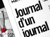 Journal d'un journal Mathieu Sapin