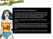 Wonder Woman Catwoman chez André