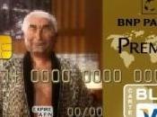 Avec Paribas, personnalise carte bancaire