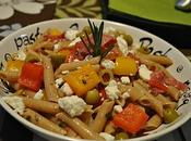 Penne poivrons fromage Feta