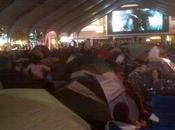 visites guests multiplient 'Tent City'