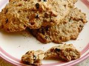 Cookies myrtilles d'avoine sans beurre