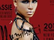Cassie couverture magazine anglais Idol: Illumati issue (Automne/Hiver)