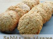 Sablés sésame (biscuits sans gluten)