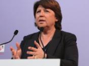 Projet d'accord PS-Europe-écologie-Les Verts: retrouvez point presse Martine Aubry