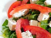 Coeur boeuf Epinard Feta salade
