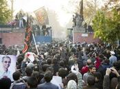 «étudiants» iraniens envahissent l'ambassade britannique Téhéran