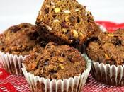 Muffins santé fruits secs, clémentines noix