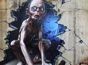 graffiti Gollum jette