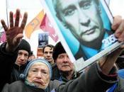 Russie Plus manifestants russes Moscou pour dénoncer fraude électorale Poutine.