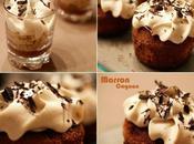 Petits cakes crème marron cognac