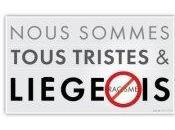 """""""Nous sommes liégeois, tristes antiracistes"""""""