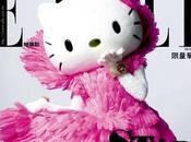 """Hello Kitty couverture pour magazine """"Elle"""" Taiwan!"""