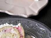 Bûche Chocolat blanc Framboise (ganache montée)