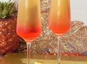 Cocktails fêtes K'Shiri bulles Antilles d'ananas