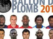 nominés pour Ballon plomb 2011