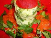 Mille- feuille tomate crabe avocat