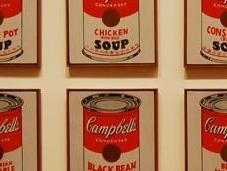 soupe Campbell's comme grande époque