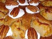 Gâteau d'avoine, poires pécans